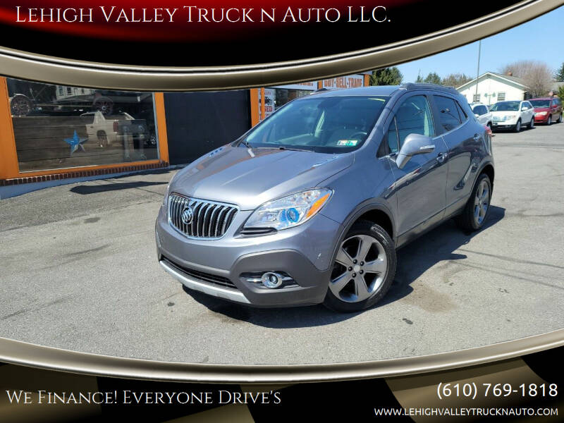2014 Buick Encore for sale at Lehigh Valley Truck n Auto LLC. in Schnecksville PA