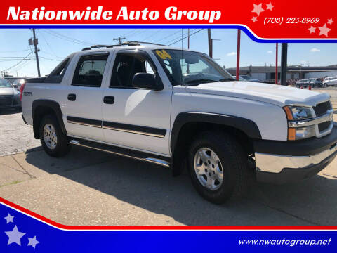 2004 Chevrolet Avalanche for sale at Nationwide Auto Group in Melrose Park IL