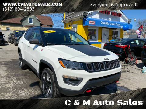2018 Jeep Compass for sale at C & M Auto Sales in Detroit MI