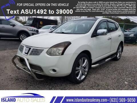 2008 Nissan Rogue for sale at Island Auto Sales in E.Patchogue NY
