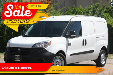 2018 RAM ProMaster City Cargo for sale at Ariay Sales and Leasing Inc. in Denver CO