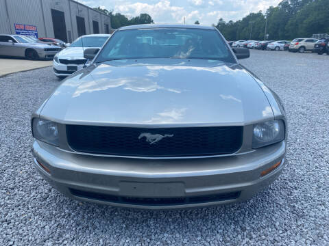2009 Ford Mustang for sale at Alpha Automotive in Odenville AL
