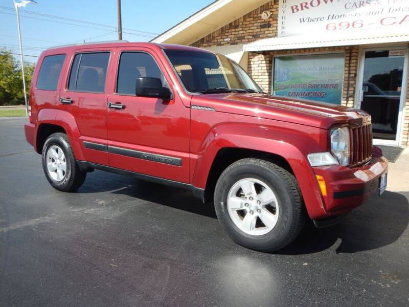 2012 Jeep Liberty for sale at Browning's Reliable Cars & Trucks in Wichita Falls TX