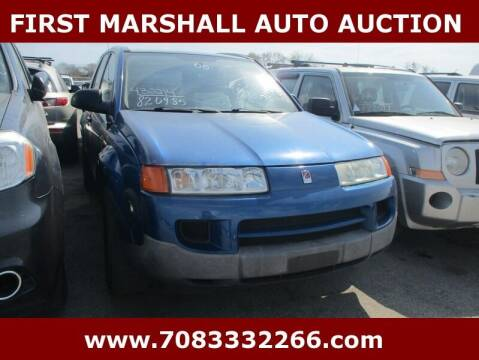 2005 Saturn Vue for sale at First Marshall Auto Auction in Harvey IL