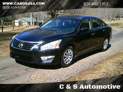 2015 Nissan Altima for sale at C & S Automotive in Nebo NC