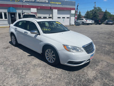 2014 Chrysler 200 for sale at Peter Kay Auto Sales in Alden NY