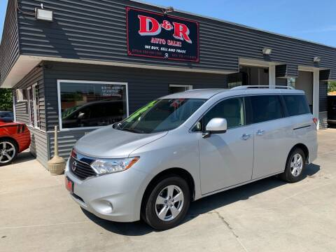 2016 Nissan Quest for sale at D & R Auto Sales in South Sioux City NE