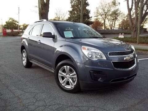 2013 Chevrolet Equinox for sale at CORTEZ AUTO SALES INC in Marietta GA