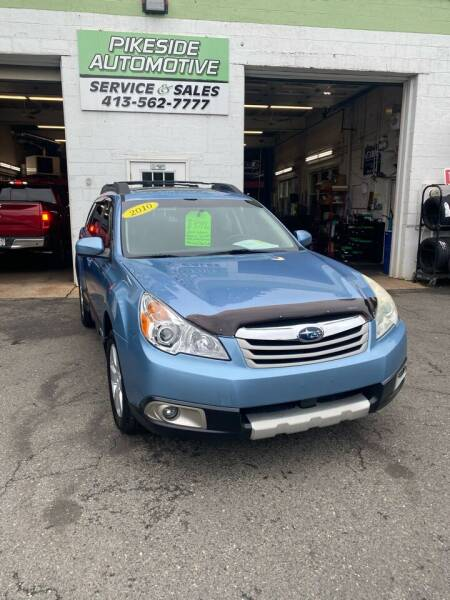 2010 Subaru Outback for sale at Pikeside Automotive in Westfield MA