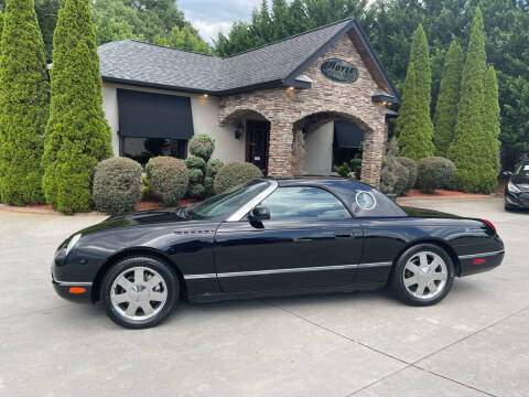 2002 Ford Thunderbird for sale at Hoyle Auto Sales in Taylorsville NC