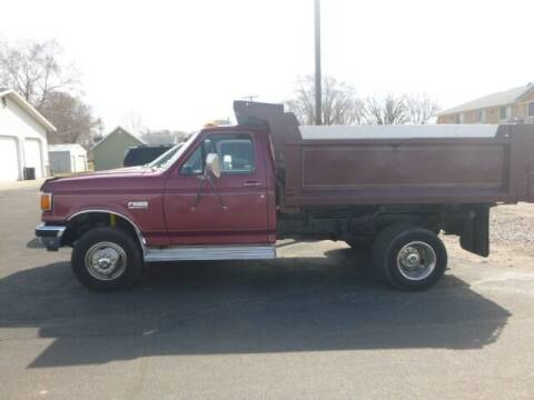 1988 Ford F-450 for sale at JIM WOESTE AUTO SALES & SVC in Long Prairie MN