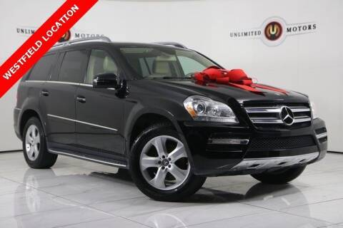 2012 Mercedes-Benz GL-Class for sale at INDY'S UNLIMITED MOTORS - UNLIMITED MOTORS in Westfield IN
