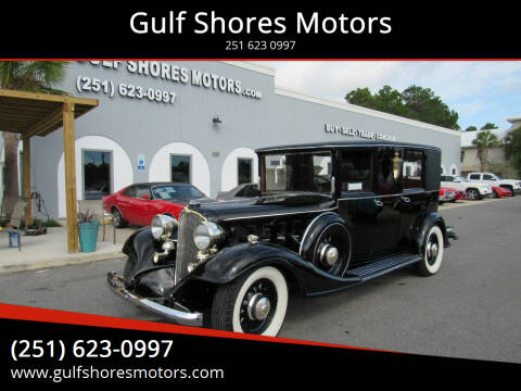 1933 Buick 90 Series Limousine for sale at Gulf Shores Motors in Gulf Shores AL