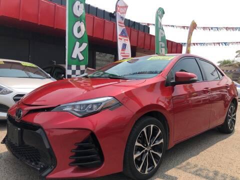 2017 Toyota Corolla for sale at Duke City Auto LLC in Gallup NM