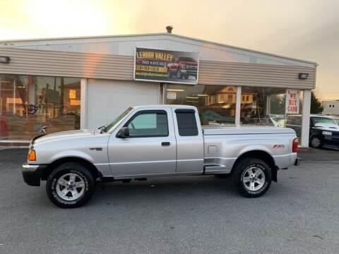 2004 Ford Ranger for sale at Lehigh Valley Truck n Auto LLC. in Schnecksville PA