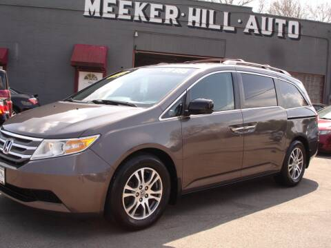 2011 Honda Odyssey for sale at Meeker Hill Auto Sales in Germantown WI