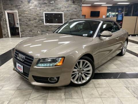 2011 Audi A5 for sale at Sonias Auto Sales in Worcester MA
