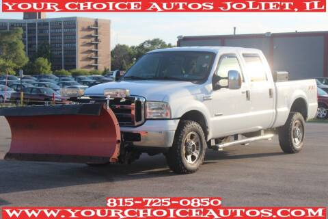 2007 Ford F-350 Super Duty for sale at Your Choice Autos - Joliet in Joliet IL