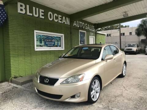 2006 Lexus IS 350 for sale at Blue Ocean Auto Sales LLC in Tampa FL