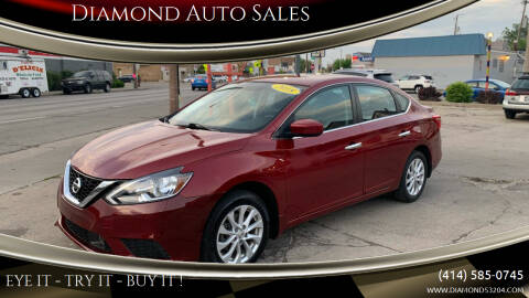 2018 Nissan Sentra for sale at Diamond Auto Sales in Milwaukee WI