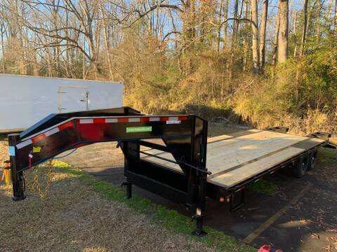 2021 New Carry-On 8.5x25 Gooseneck 14K Trailer for sale at Tripp Auto & Cycle Sales Inc in Grimesland NC