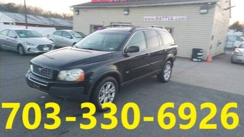 2005 Volvo XC90 for sale at MANASSAS AUTO TRUCK in Manassas VA