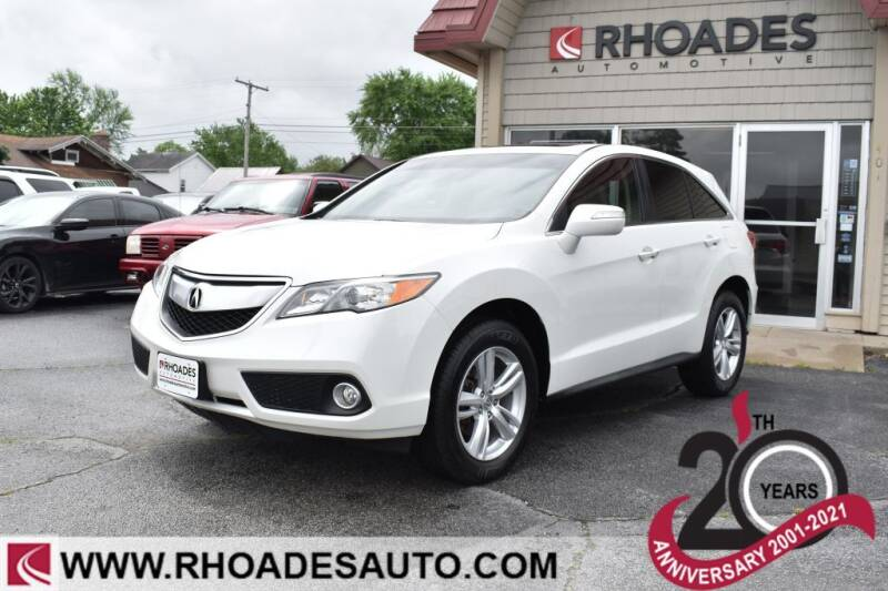 2014 Acura RDX for sale at Rhoades Automotive in Columbia City IN