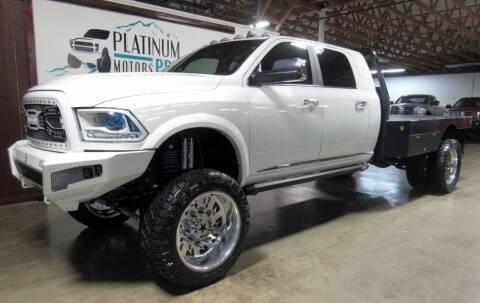 2018 RAM Ram Pickup 3500 for sale at Platinum Motors in Portland OR