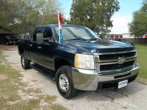 2008 Chevrolet Silverado 2500HD for sale at Hartman's Auto Sales in Victoria TX