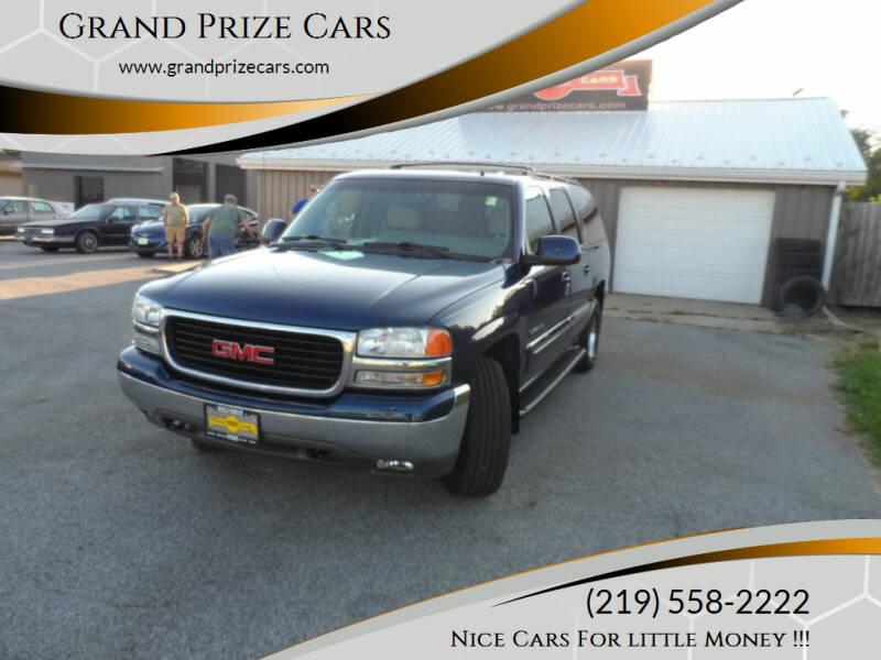 2002 GMC Yukon XL for sale at Grand Prize Cars in Cedar Lake IN
