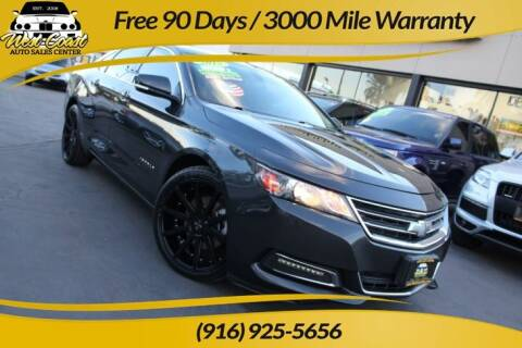 2015 Chevrolet Impala for sale at West Coast Auto Sales Center in Sacramento CA