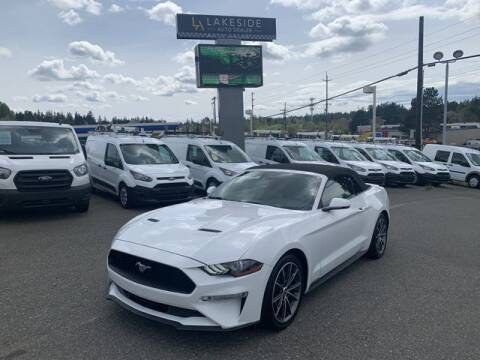 2019 Ford Mustang for sale at Lakeside Auto in Lynnwood WA
