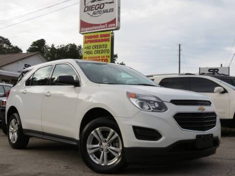 2016 Chevrolet Equinox for sale at Diego Auto Sales #1 in Gainesville GA