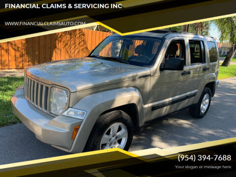 2010 Jeep Liberty for sale at FINANCIAL CLAIMS & SERVICING INC in Hollywood FL