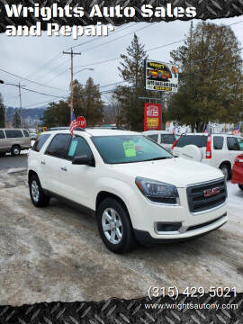 2015 GMC Acadia for sale at Wrights Auto Sales and Repair in Dolgeville NY