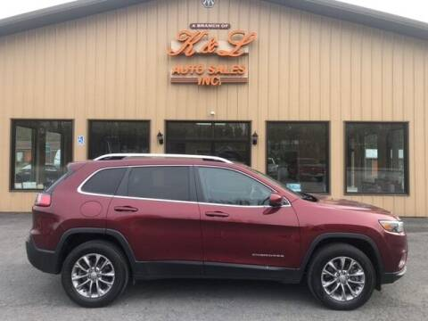 2019 Jeep Cherokee for sale at K & L AUTO SALES, INC in Mill Hall PA