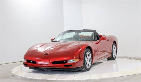 1999 Chevrolet Corvette for sale at Mershon's World Of Cars Inc in Springfield OH