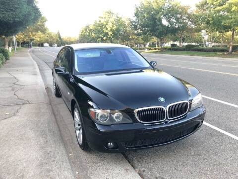 2008 BMW 7 Series for sale at MK Motors in Sacramento CA