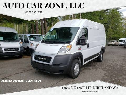 2020 RAM ProMaster Cargo for sale at Auto Car Zone, LLC in Kirkland WA