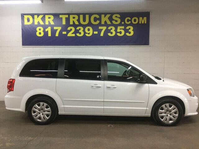 2014 Dodge Grand Caravan for sale at DKR Trucks in Arlington TX