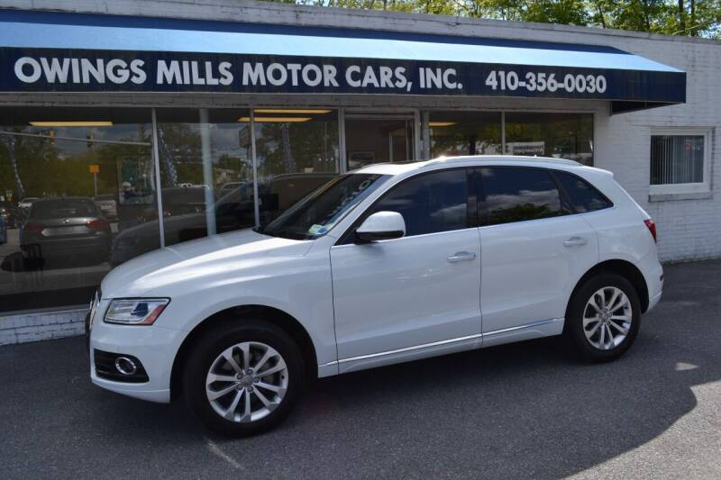 2015 Audi Q5 for sale at Owings Mills Motor Cars in Owings Mills MD