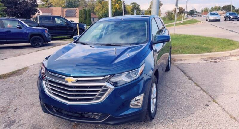 2020 Chevrolet Equinox for sale at One Price Auto in Mount Clemens MI