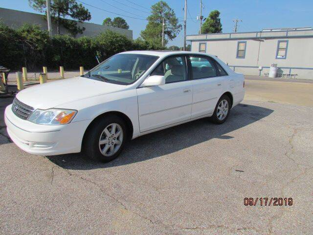 2003 Toyota Avalon for sale at P W'S Auto Sales in Memphis TN