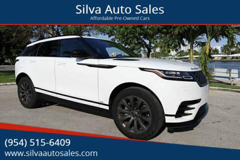 2018 Land Rover Range Rover Velar for sale at Silva Auto Sales in Pompano Beach FL