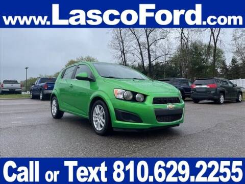 2015 Chevrolet Sonic for sale at Lasco of Grand Blanc in Grand Blanc MI