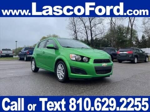 2015 Chevrolet Sonic for sale at LASCO FORD in Fenton MI