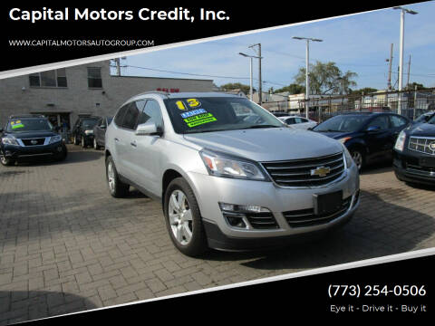 2013 Chevrolet Traverse for sale at Capital Motors Credit, Inc. in Chicago IL