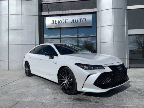 2019 Toyota Avalon Hybrid for sale at Berge Auto in Orem UT