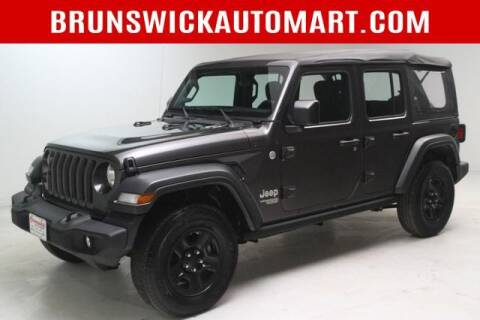 2018 Jeep Wrangler Unlimited for sale at Brunswick Auto Mart in Brunswick OH