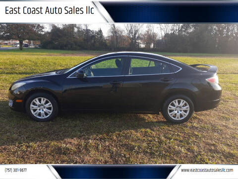 2010 Mazda MAZDA6 for sale at East Coast Auto Sales llc in Virginia Beach VA